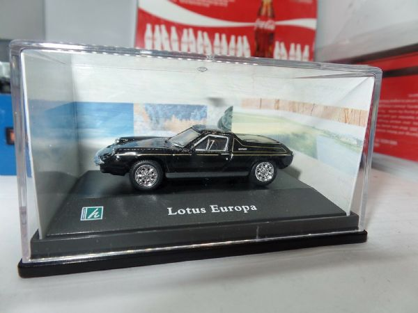 Cararama 1/72 Scale Lotus Europa Black